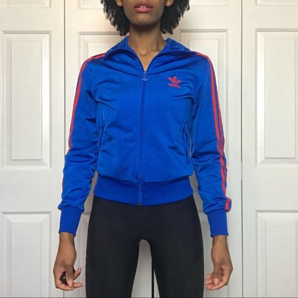 9cabed5f8a96 adidas Jackets   Blazers - Adidas Originals Trefoil Firebird Track Jacket
